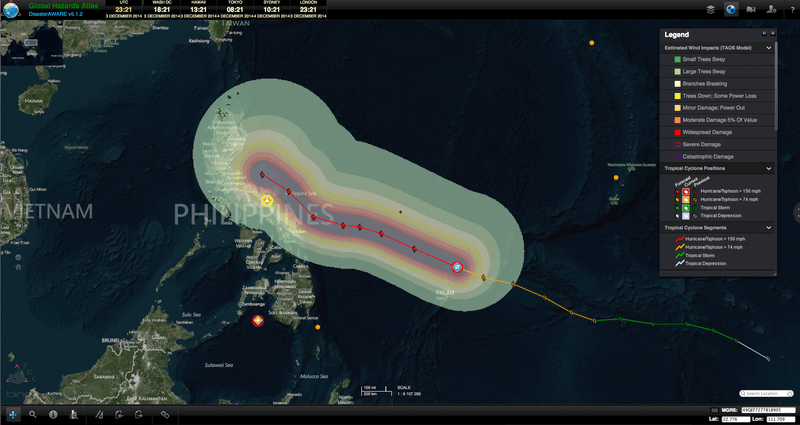 Super Typhoon Hagupit rapidly intensifies in northwestern Pacific