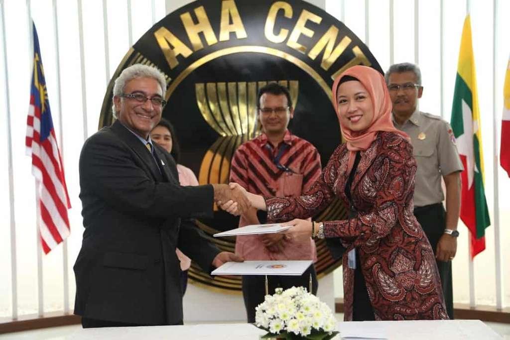 PDC and AHA Centre sign Memorandum of Intent