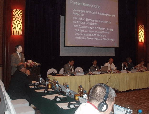 PDC co-chairs conference on APEC preparedness