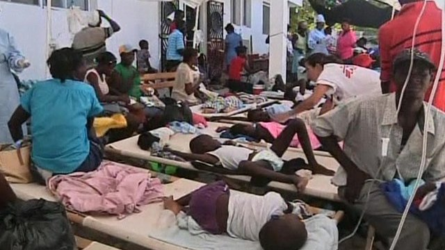 PDC assists with Cholera outbreak in Haiti