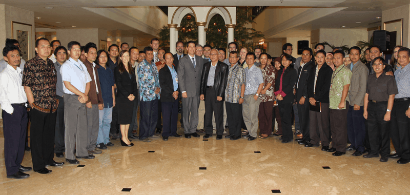 PDC-Indonesia partner on InAWARE