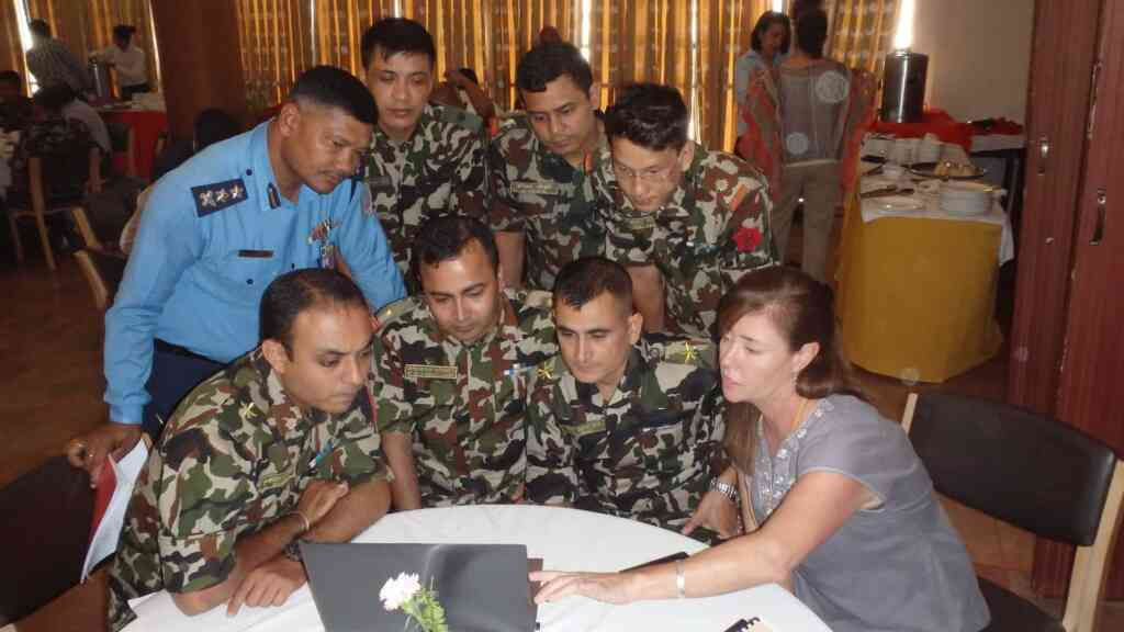 Nepal exercises preparedness with PDC