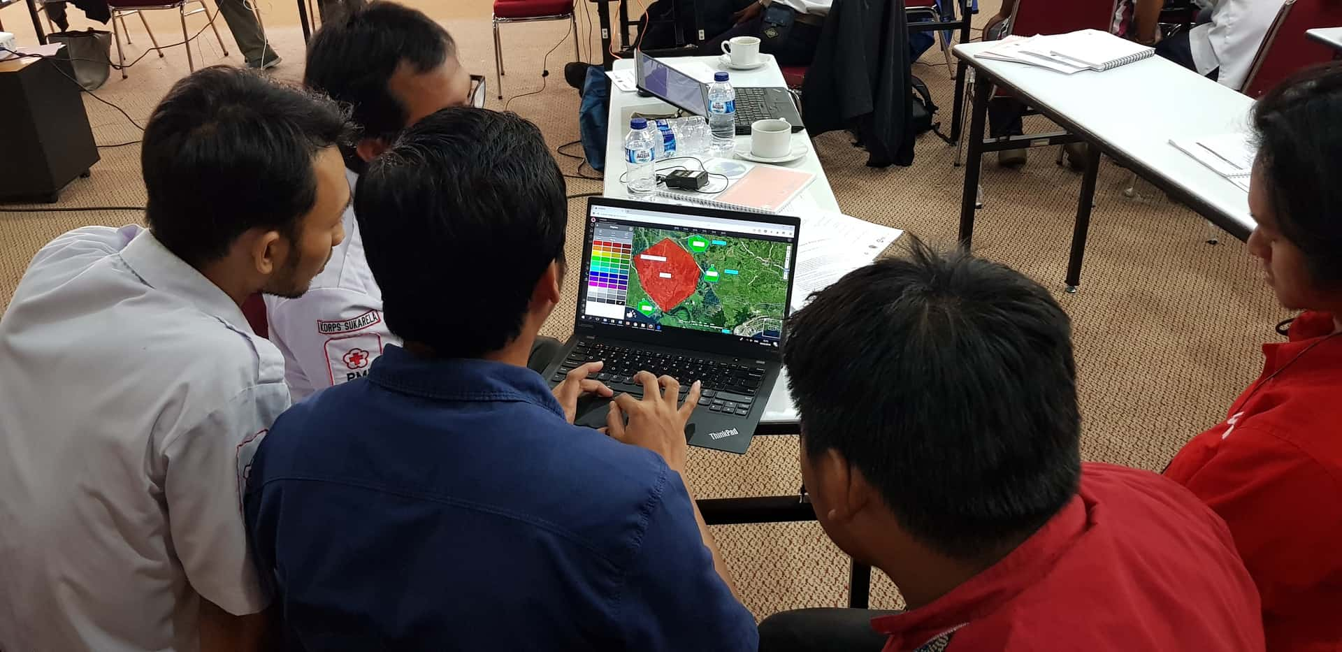 Red cross training Indonesia 1