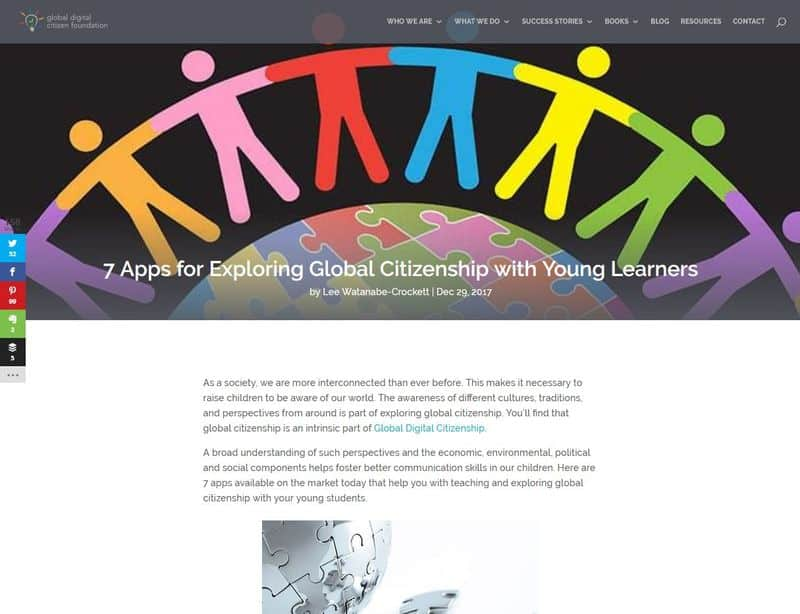 7 apps for exploring global citizenship with young learners