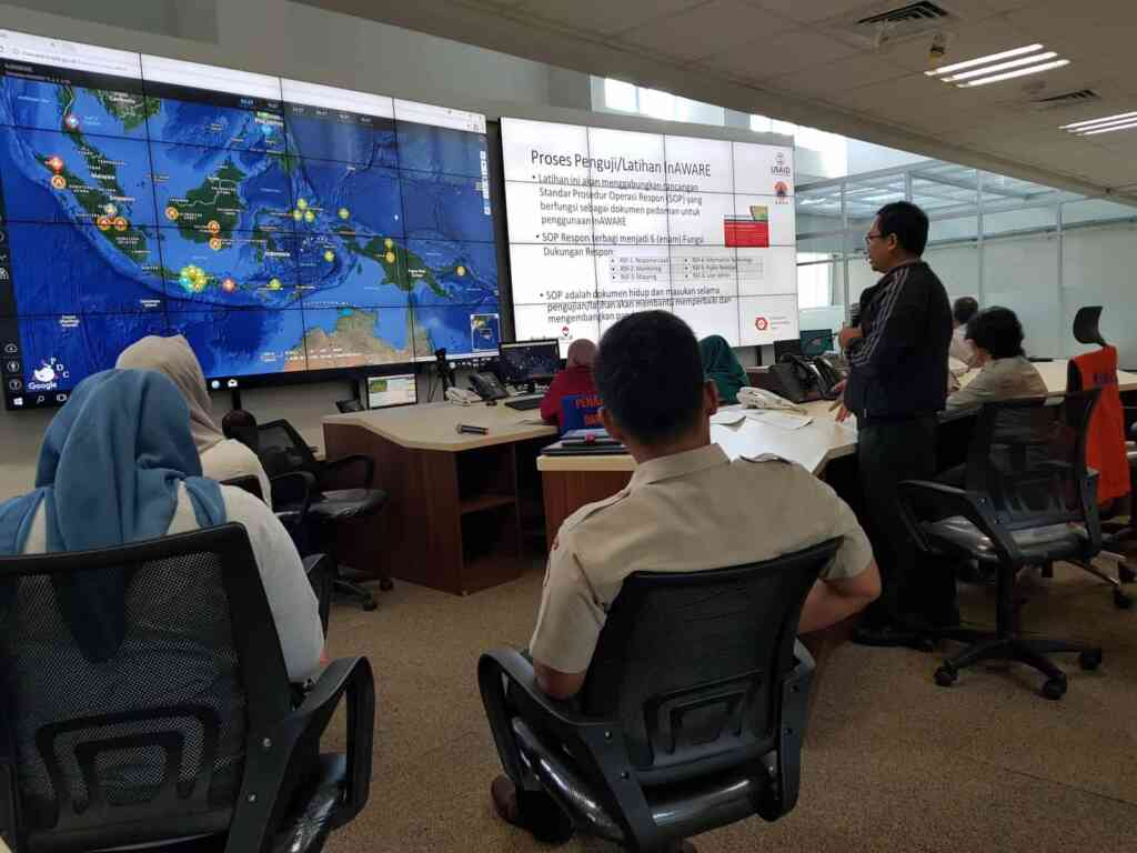 PDC supports 10 major disaster exercises