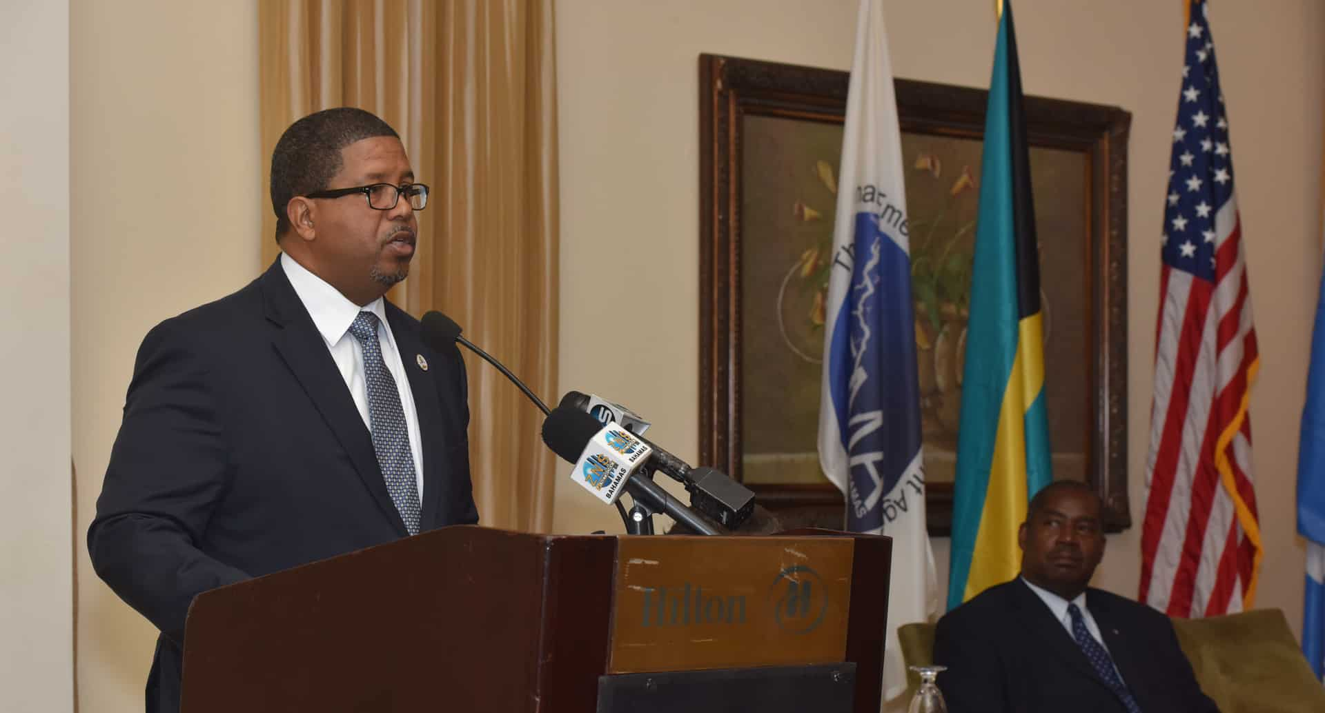 Deputy Prime Minister of The Bahamas praises research partnership on disaster risk reduction and climate change