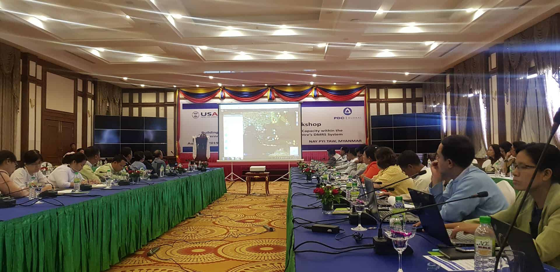 Myanmar program to improve disaster management capacity advances to self-reliance stage