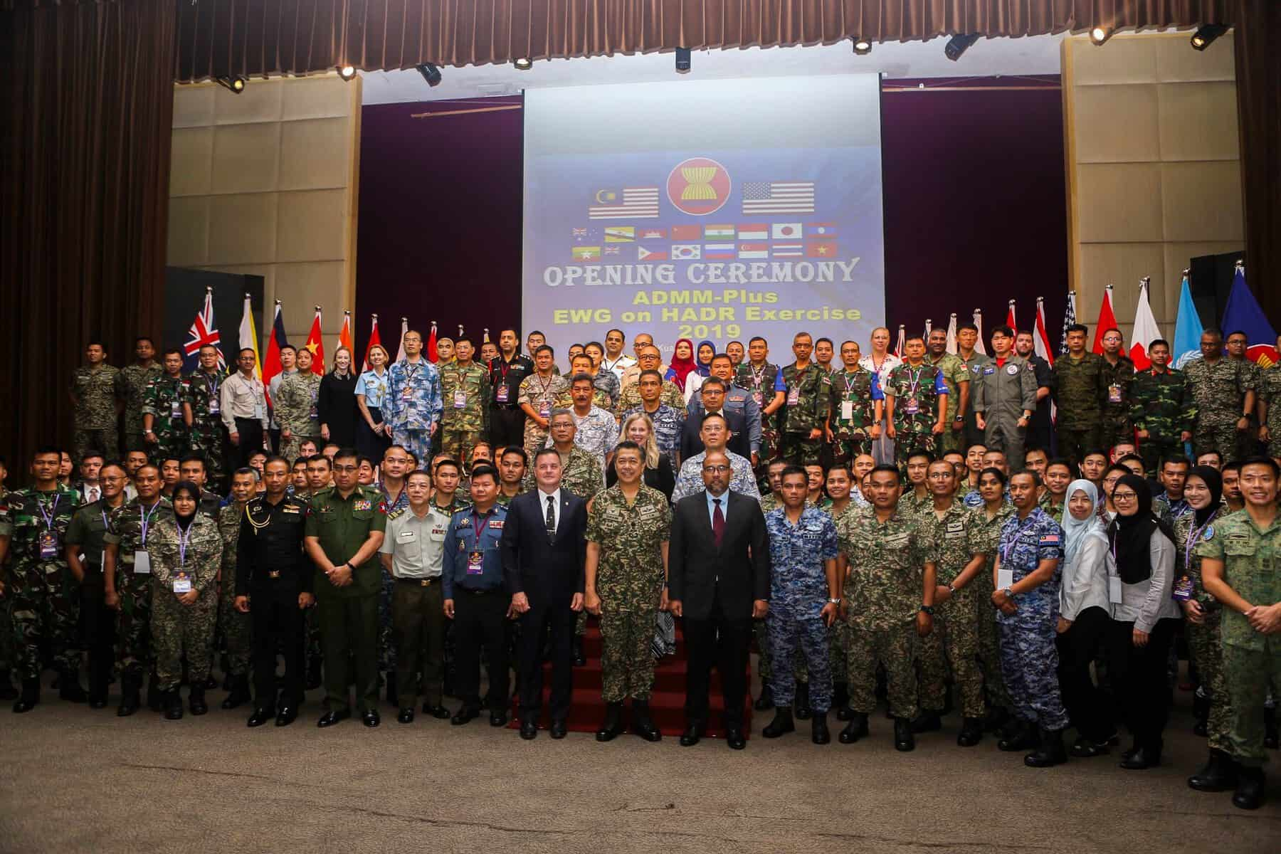 Not 'going it alone,'  18 nations join forces in major disaster response exercise