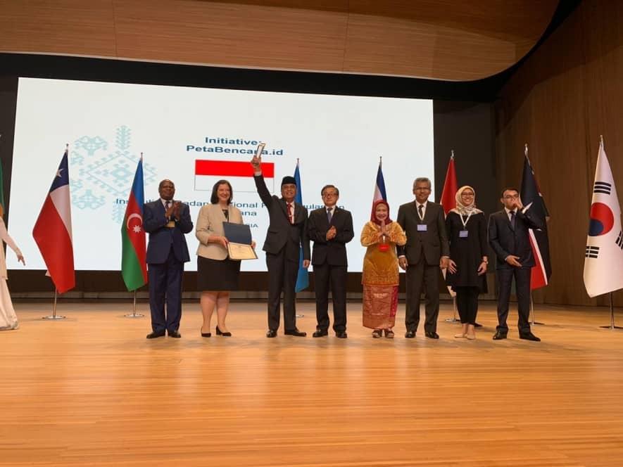 PataBencana.id accepts UN award